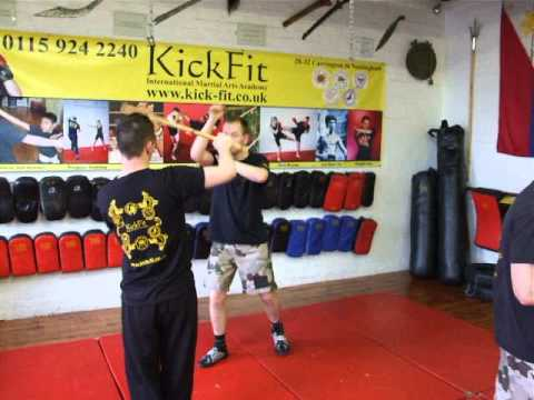 FMA Eskrima Kali Arnis 4 classes a week at Kickfit Martial Arts Academy,Nottingham,UK Image 1