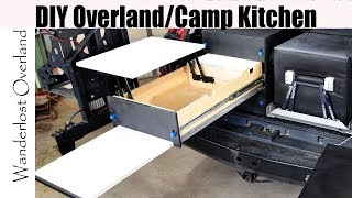 DIY Drawer System Build For Overlanding / Camping. Save big money by building your own!