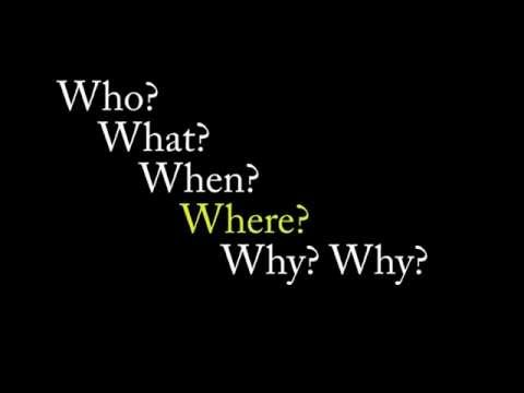 Jazz Chants - Who? What? When? Where? Why? video