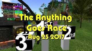 2017 08 25 Anything goes race