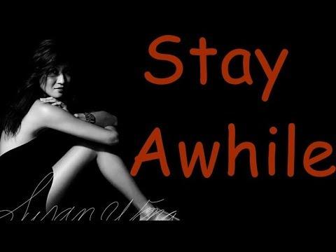 Susan Wong -  Stay Awhile (lyrics)