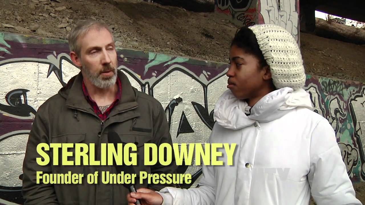 Interview with Sterling Downey from UNDER PRESSURE