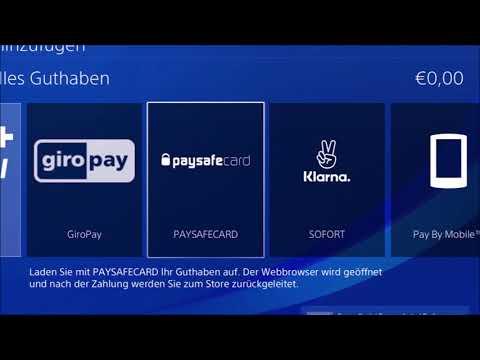 Alle PSN Playstation Spiele mit Paysafecard Paysafekarte PSC kaufen bezahlen