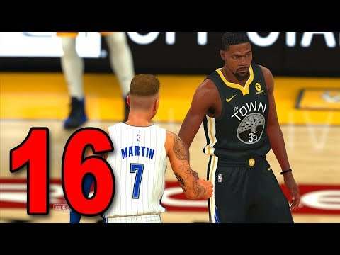 NBA 2K18 My Player Career - Part 16 - GOLDEN STATE WARRIORS