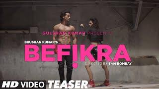 BEFIKRA Song Teaser | Tiger Shroff, Disha Patani, Meet Bros | T-Series