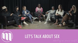 4. Let'sTalk About Sex - What If We Were Real? Talk Show - Episode 4.  #RelationshipGoals