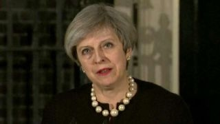 May: We will all move forward, never giving in to terror