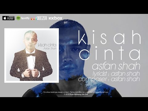 (OST SHHH I LOVE YOU) Asfan Shah - Kisah Cinta [Official Lyrics Video]