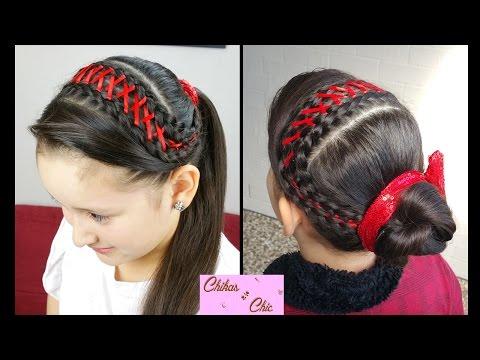 Peinado facil con coleta postiza - Como hacer peinados faciles ...