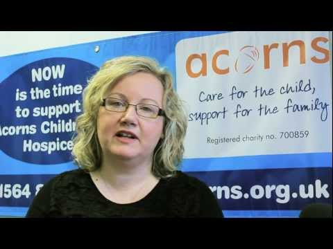 Opace Testimonial by Dawn Curnyn, Acorns Children's Hospice Trust
