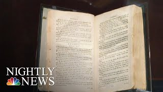 Video: 'Slave Bible' removed passages to instil Obedience & uphold Slavery - NBC News