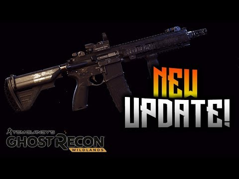 Ghost Recon Wildlands - NEW Update! HK416 Fixed, Ghost Mode Buff, And More!