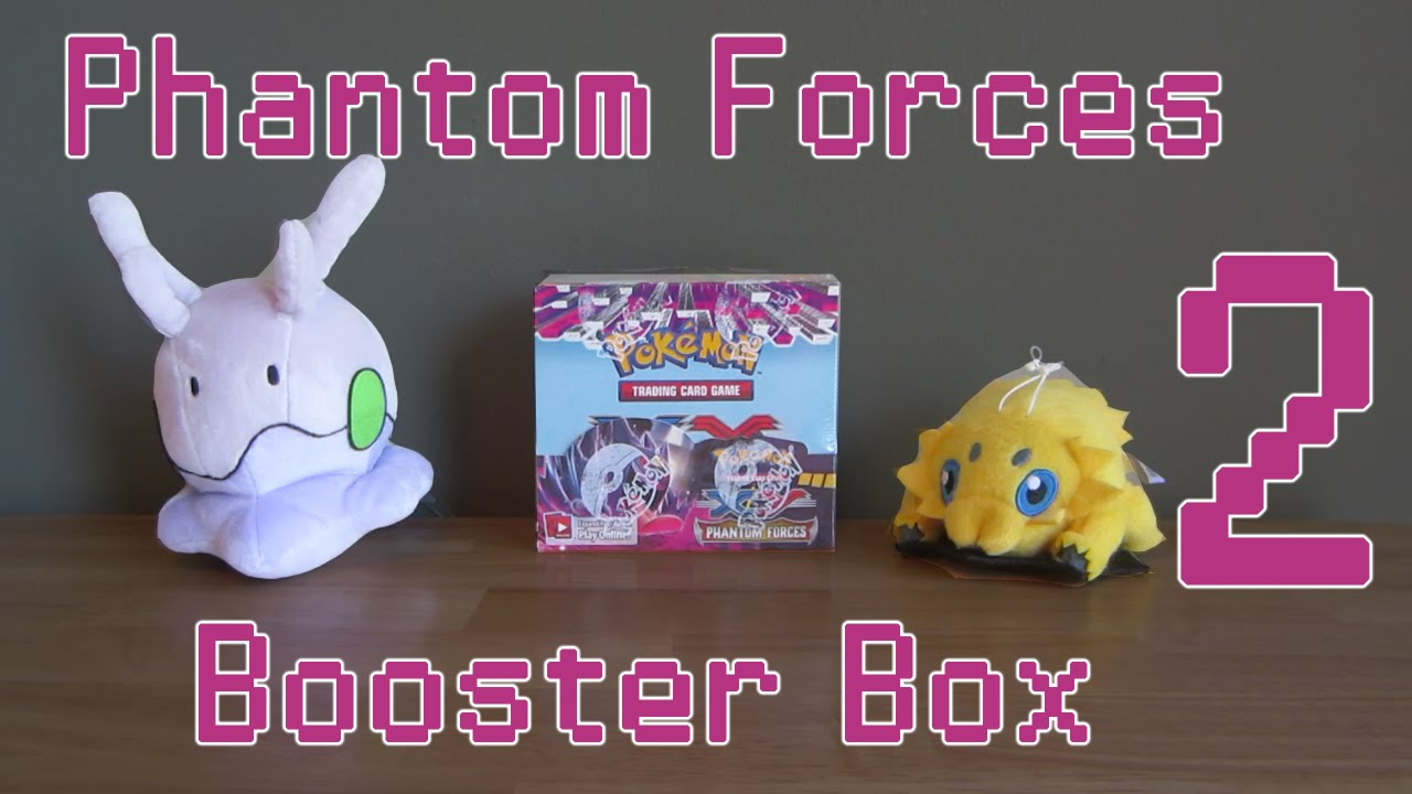 Opening a pok 233 mon phantom forces booster box part 2 youtube