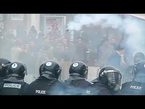 Kosovo: anti-government protesters demand minister's resignation - no comment