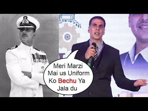 Akshay Kumar's SHOCKING Reaction On Being INSULTED For Selling Uniform In Rustom Movie For Money thumbnail