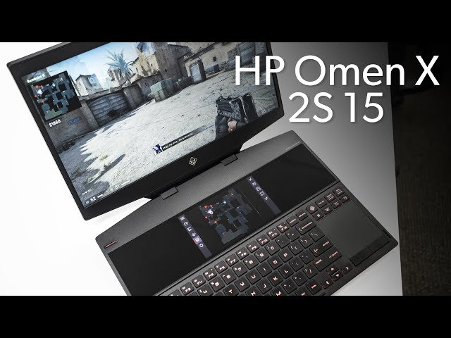 HP Omen X 2S 15: Liquid metal and two screens thumbnail