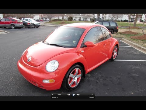 2002 Volkswagen Beetle Turbo Snap Orange Limited Edition Start Up, Exhaust, and In Depth Tour