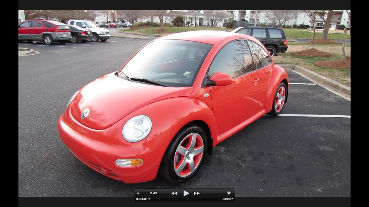 2002 Volkswagen Beetle Turbo Snap Orange Limited Edition