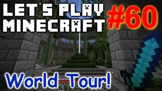 Let's Play Minecraft Survival (Part 60) - Full World Tour