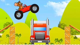 Tom and Jerry Car Stunt / Cartoon Games Kids TV