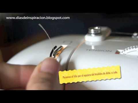Enhebrar máquina de coser Singer Serenade.m4v