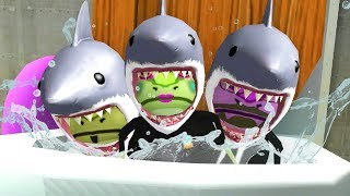 Download Lagu SHARK FROGS FLUSHED DOWN THE MAGIC TOILET! - Amazing Frog - Part 131 | Pungence Gratis STAFABAND