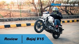 Bajaj V15 Review | MotorBeam