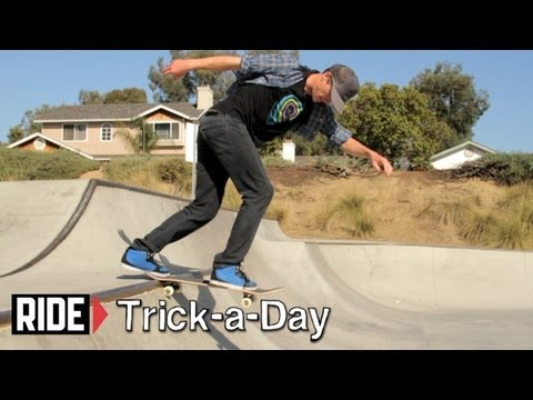 How-To B/S Tail Stall with Chad Bartie - Trick-a-Day