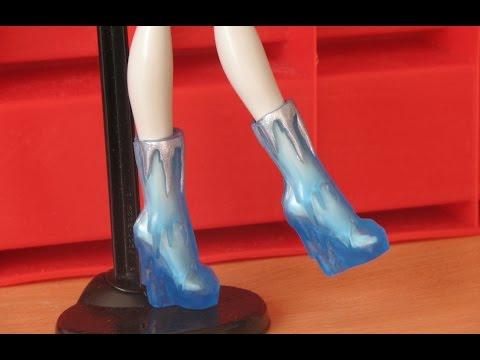 Обувь для кукол видео