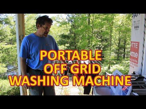 Panda XPB45 Washing Machine Review at the Off Grid Cabin