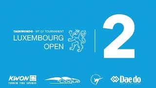 Taekwondo Luxembourg Open 2019 G1 Sunday Court 2