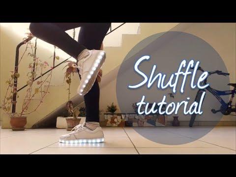 Cómo bailar shuffle ❤ Pasos básicos | Saori Chan