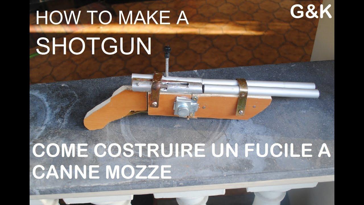 Come costruire un fucile a canne mozze youtube for Come costruire un cottage a casa