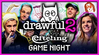DRAWFUL 2 met Link, Joost, Milan en Dionne | Efteling Game Night #8 |