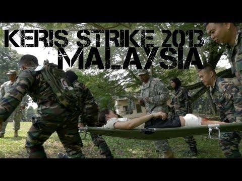 Malaysia and U.S. Military Exercise - Keris Strike