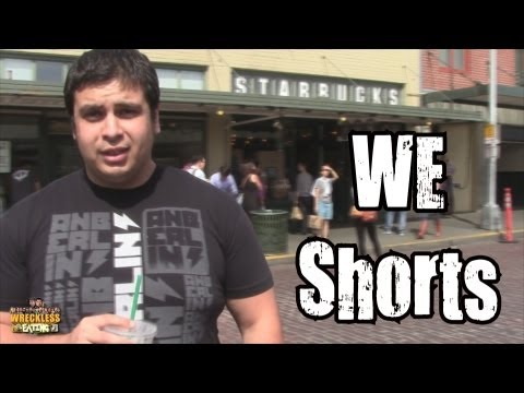 WE Shorts - First Ever Starbucks
