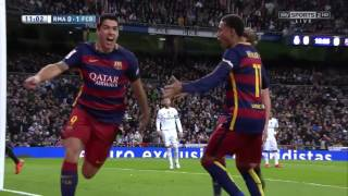 Real Madrid vs FC Barcelona 0 4 Full Match 2015 16 HD 720p English Commentary