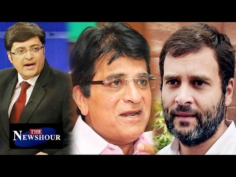 BJP Questions Rahul Gandhi's Purchase of Shops in Delhi | The Newshour Exclusive (3rd May 2016)