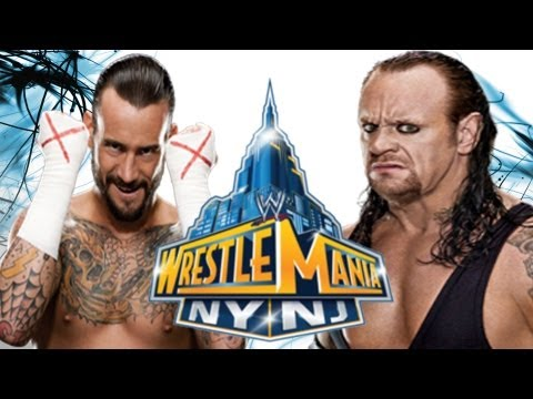 The Undertaker vs. CM Punk at Wrestlemania 29 For WWE Title ?
