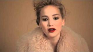 Sexy Elle Magazine Behind The Scenes Interview of Jennifer Lawrence
