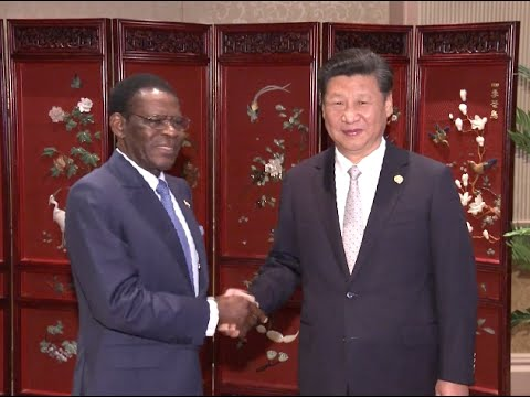 Chinese President Meets 17 African Leaders in Johannesburg