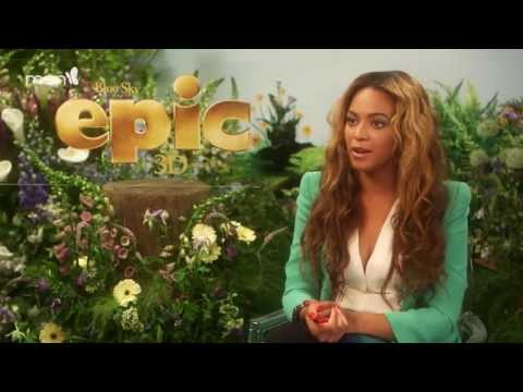 Beyonce talks about her role as Queen Tara in Epic [HD]