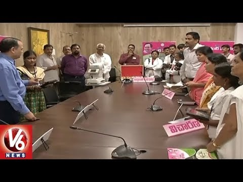 CS SK Joshi Holds Video Conference With Dist Collectors Over Kanti Velugu Scheme | V6 News