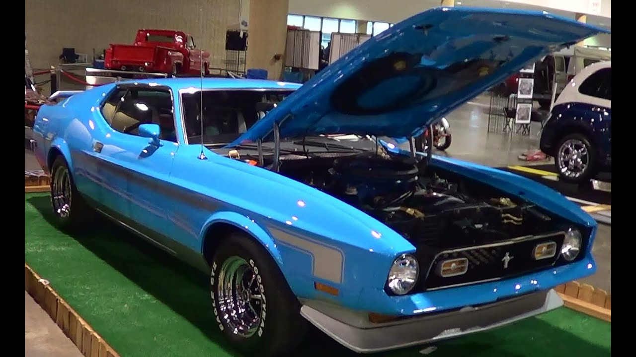 1972 Mach 1 Mustang Youtube