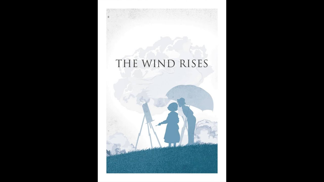 The Wind Rises Animated Poster