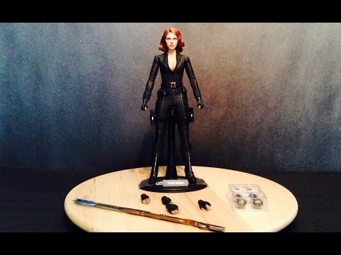 HOT TOYS BLACK WIDOW  THE AVENGER ( VIUDA NEGRA ) REF. MMS178 VIDEO REVIE EN ESPAÑOL