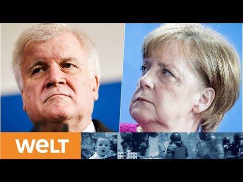 MACHTKAMPF UM ASYL Opfern Seehofer und Merkel wirklich die Union?