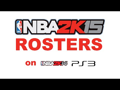 How to Get 2K15 Rosters on NBA 2K14 (Playstation 3)
