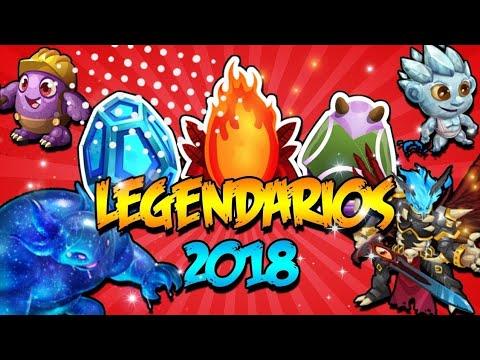 COMBINACIONES DE TODOS LOS LEGENDARIOS ACTUALIZADA - Monster Legends