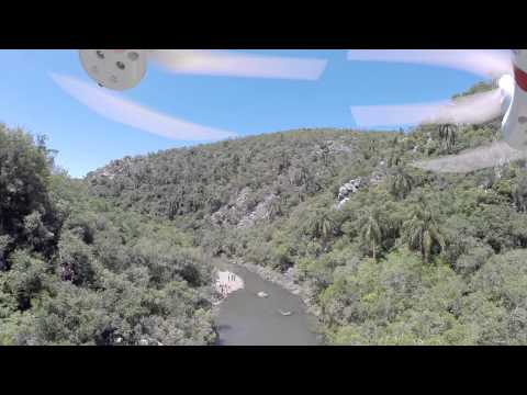 GoPro - Quebrada de los cuervos Uruguay - La quebrada